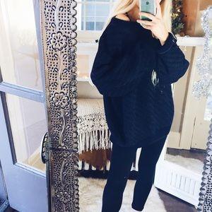 Sweaters - Zeena Chunky Oversized Woven Sweater